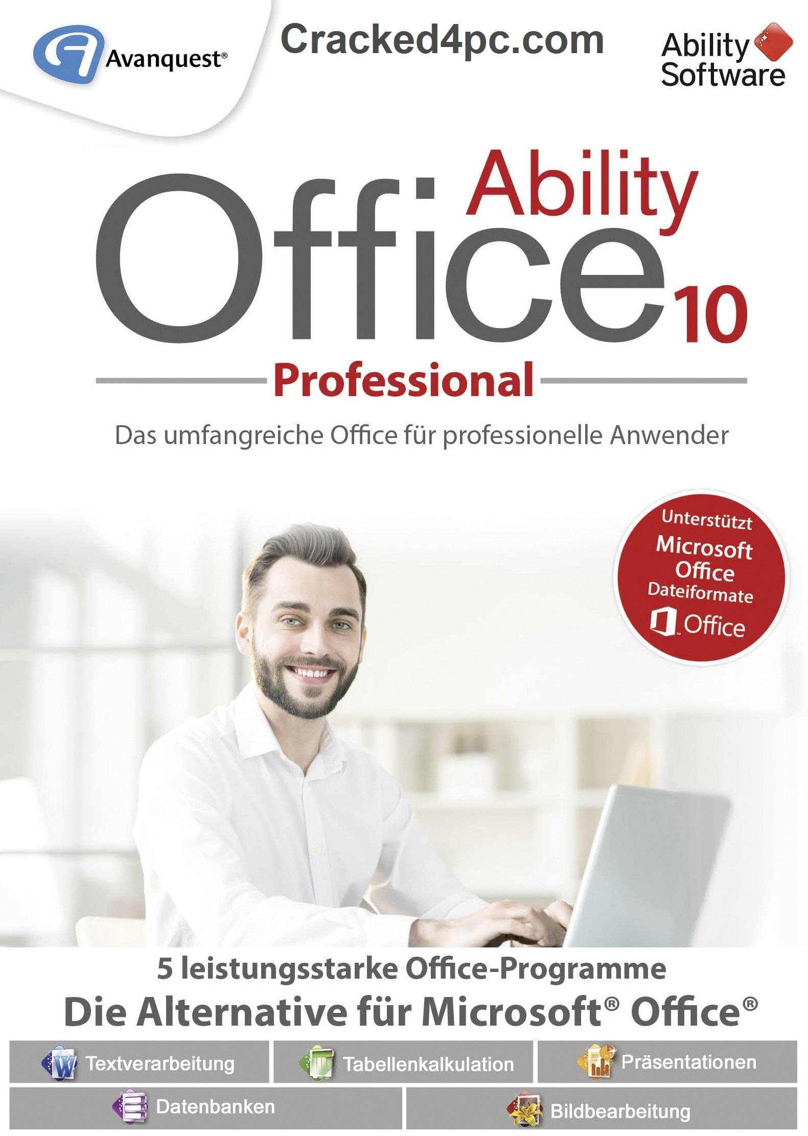Ability Office Professional 10.0.3 Crack Pre-Patched Free Download