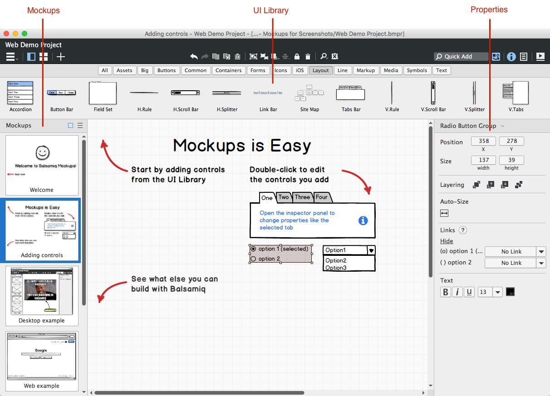Balsamiq Mockups 4.0.29 Crack + License Key Full Download