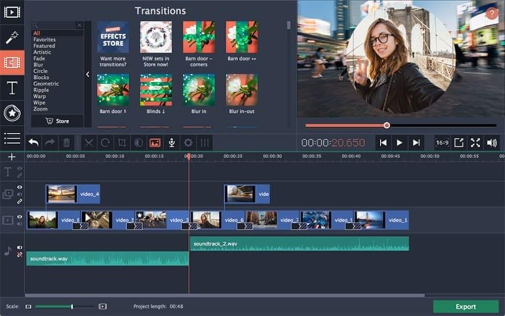 Movavi Video Editor Plus 20.3.0 + Activation Key Crack 2020