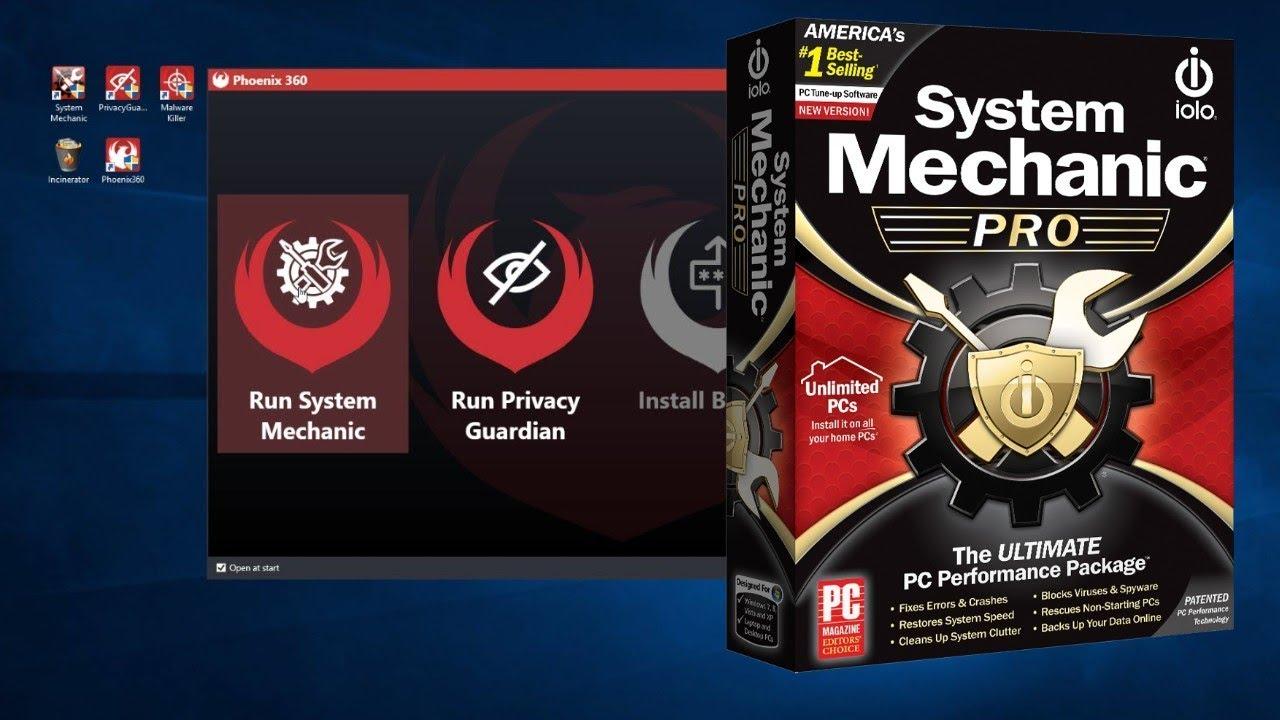 System Mechanic Pro 20.0.0.4 Crack with Activation Key 2020 [Latest]