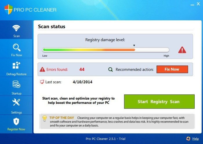 PC Cleaner Pro14.0.18.6.11 Crack with