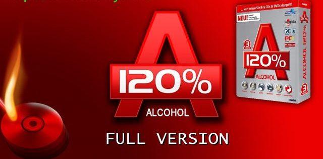 Alcohol 120% 2.1.1 Build 611 Crack Free Download