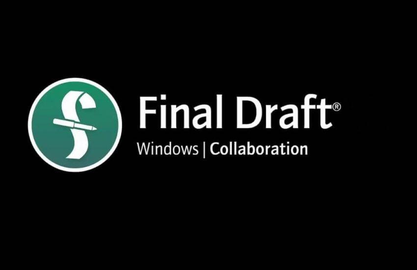 Final Draft 12.0.1 Build 60 Crack Full Version 2021 Download