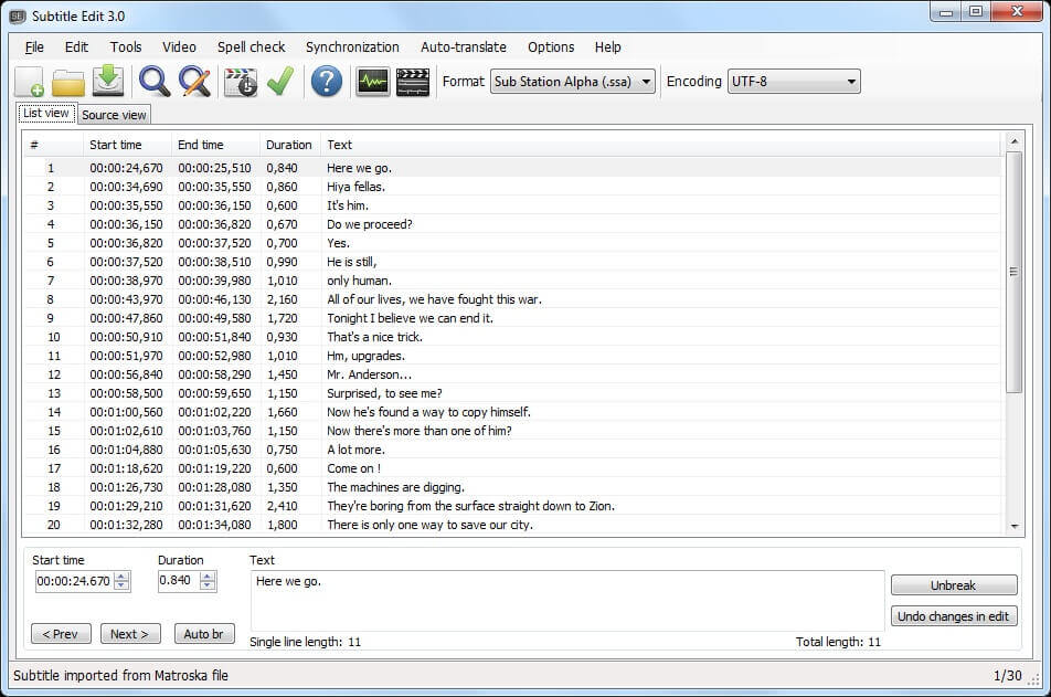 Subtitle Edit 3.6.2 Crack With Serial Key 2022 Free Download