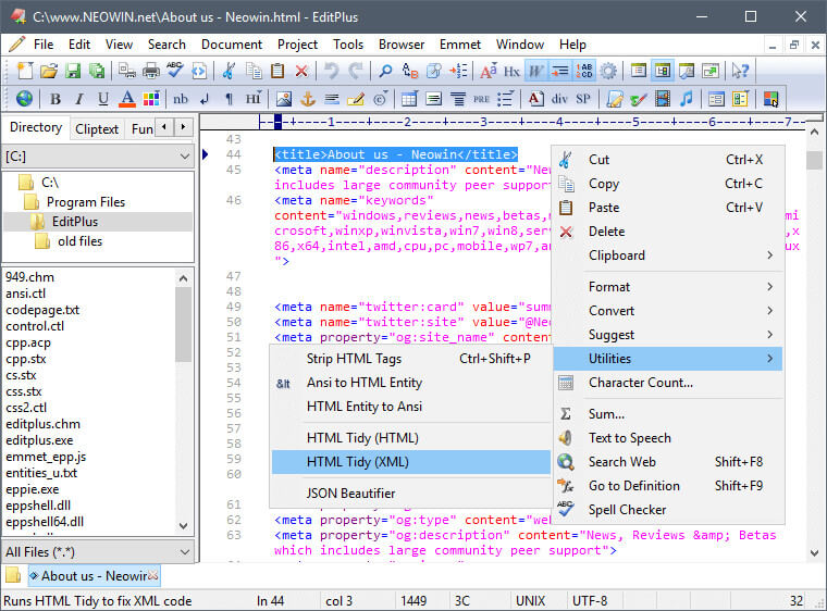 EditPlus 5.5 Build 3612 Crack 2022 Free Download Latest Version Free